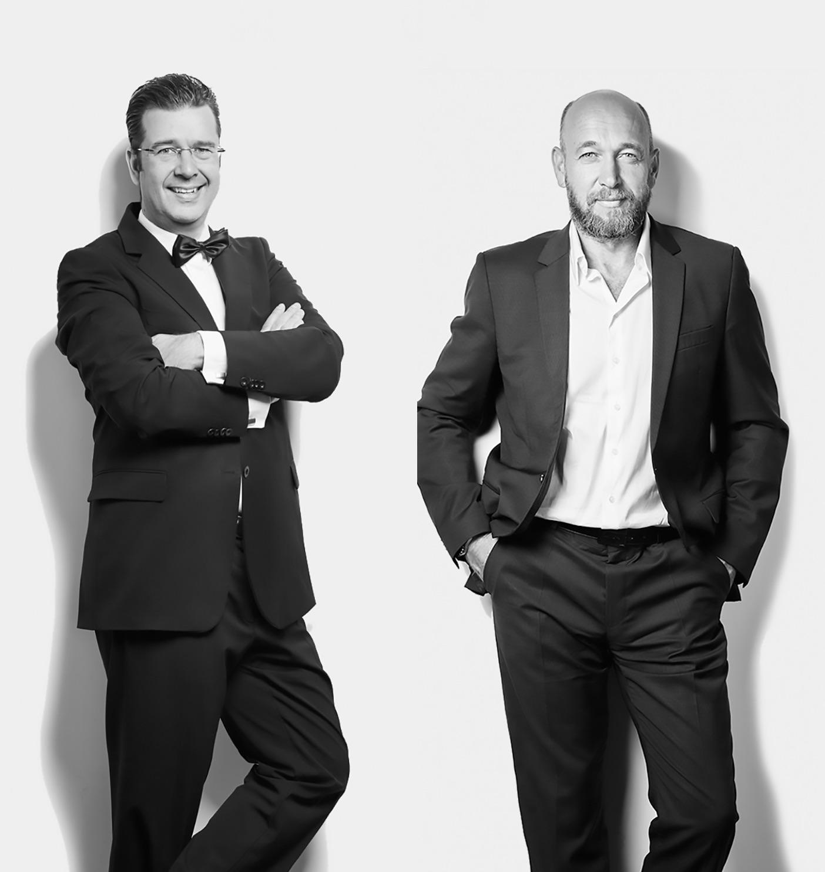 Marc Peine und Christian Vosseler