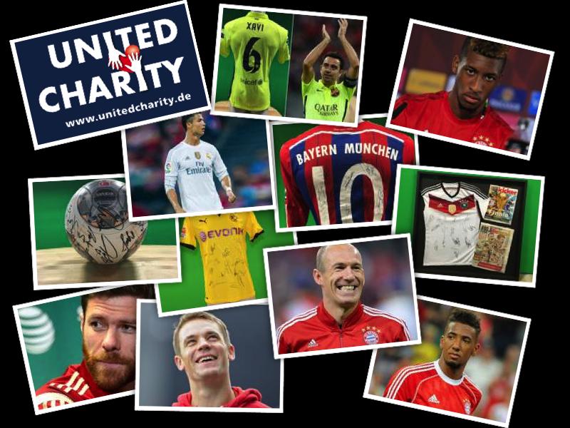 Versteigerungen zu Gunsten von Kinderlachen bei United Charity