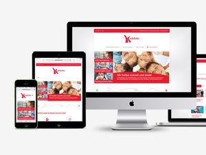 Kinderlachen Homepage im neuen Design