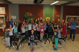 Fahrradübergabe Diesterweggrundschule