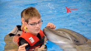 Delfin-Therapie Kinderlachen