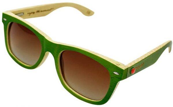 Sonnenbrille grün Shop