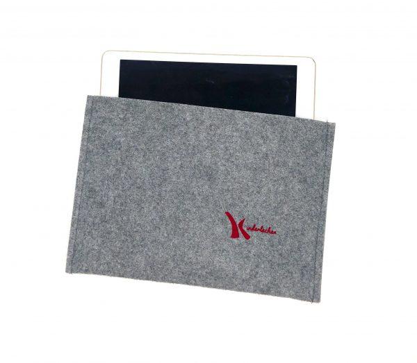 iPad Hülle grau